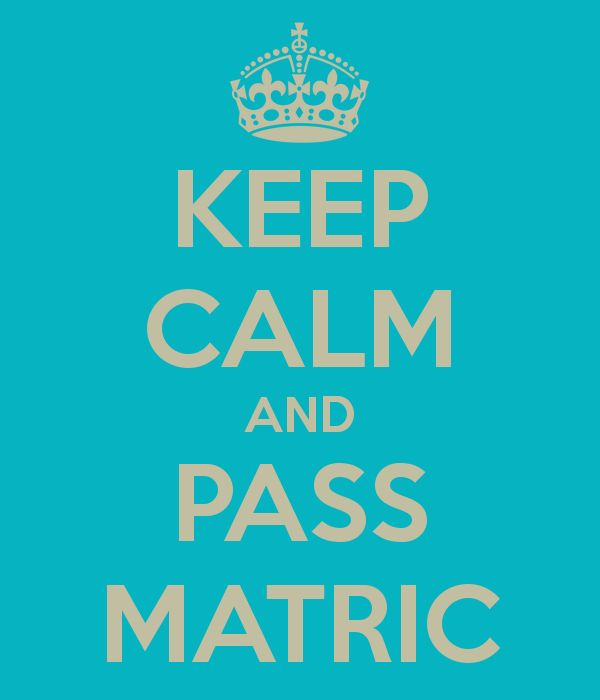 Here are super clever tips to help you get through Matric. Make sure you read this as this information has been gathered from many years of experience!