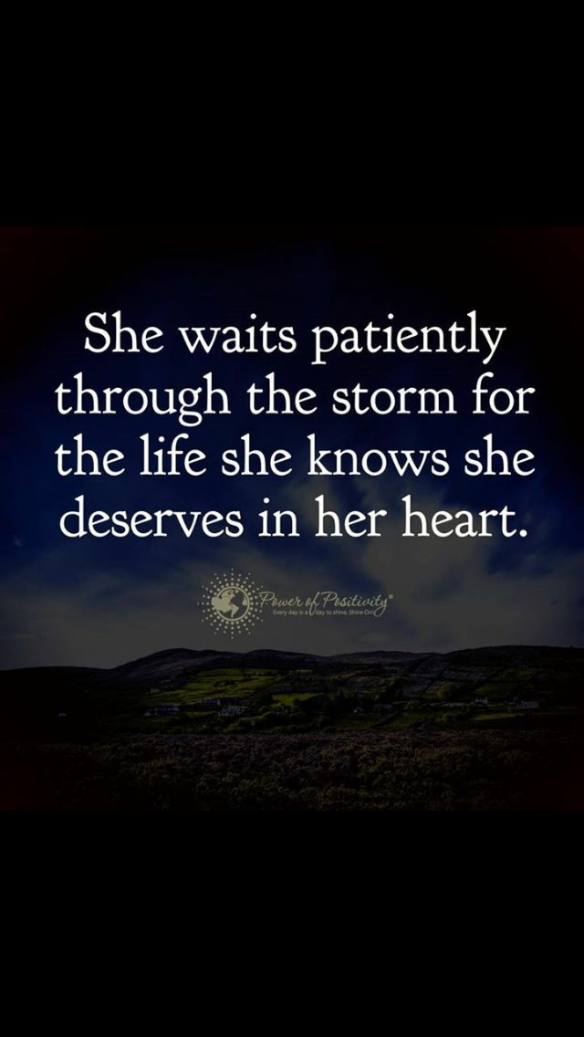 .the love she deserves in her heart will be unexplainable. Just felt. When it happens it will arrive.