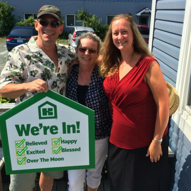 After your long journey from the Yukon, we are SO happy to welcome you home! :) We wish you many years of happiness in your Kent Mini Home!