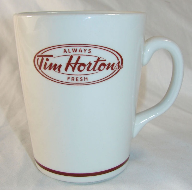 "2010 Tim Horton's ""Always Fresh"" Coffee Mug/Cup, Steelite England Tim Hortons | eBay"