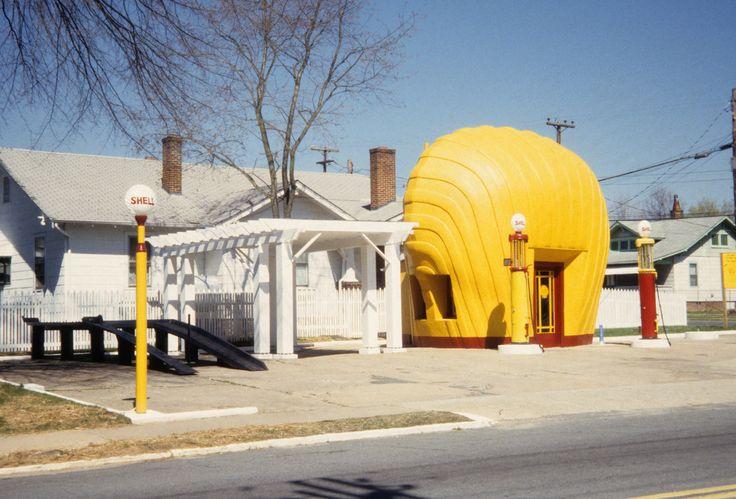 Shell station, Winston-Salem