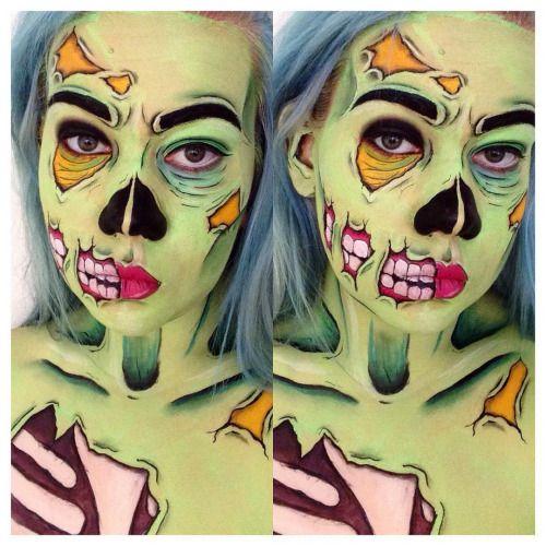 pop art zombie - Google Search