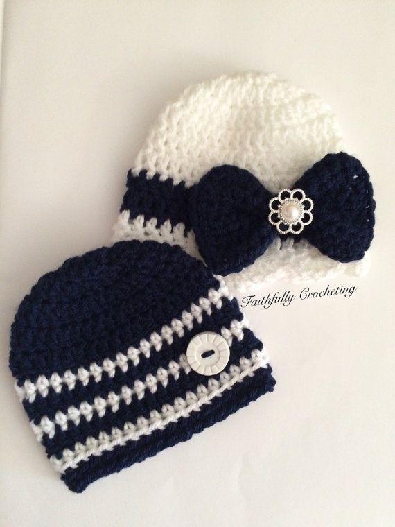 Crochet Hat Patterns For Twin Babies : 1000+ images about crochet patterns on Pinterest Crochet ...