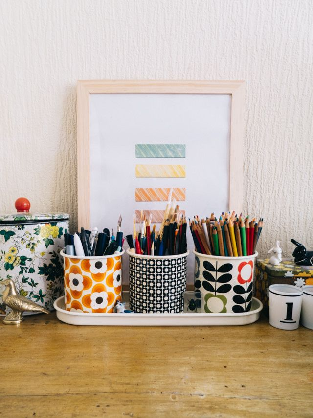 Also an original idea to try with your Orla Kiely herb pots! PS: see our Orla Kiely herb pots at https://living-lounge.be/webshop/tag/product/list/tagId/2/