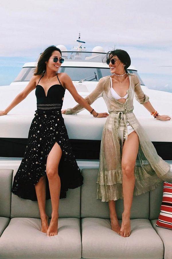 Aimee Song e Camila Coelho