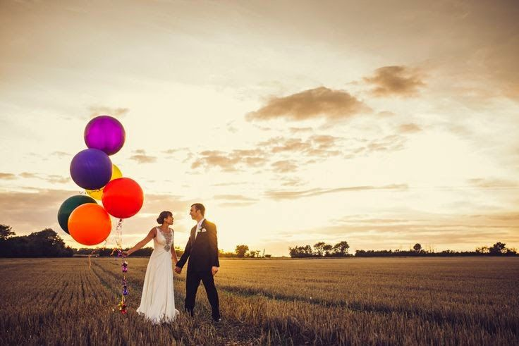 wedding giant balloons
