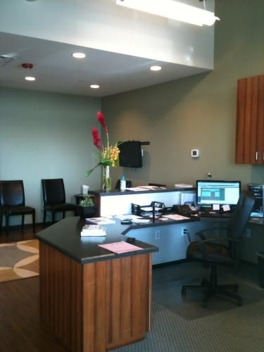 Mountain Spines New Office Suite In Stapleton Received A Beautiful Interior Paint Job And Were