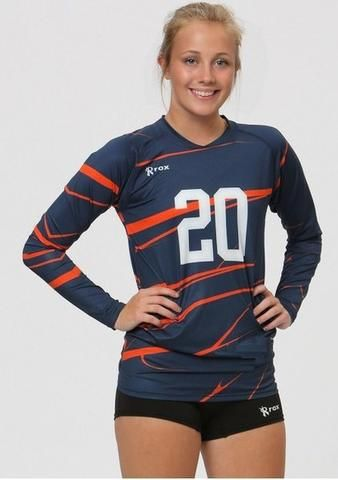 Women's volleyball jerseys with a professional look and performance feel. Choose from Standard Stock, Sublimated or Custom Designs. Manufacturer direct wholesale pricing available