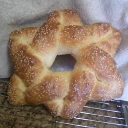Hanukkah Star Challah