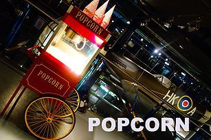 Candy Floss Machine Hire & Popcorn Carts