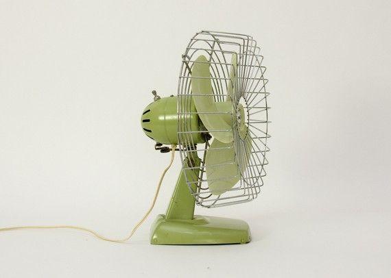 For staying cool: Vintage Fans, Electric Fans, Century Fans, Vintage Object, Adorable Fans, Biggest Fans, Fans Tasting, Bucks Fans, Green Fans