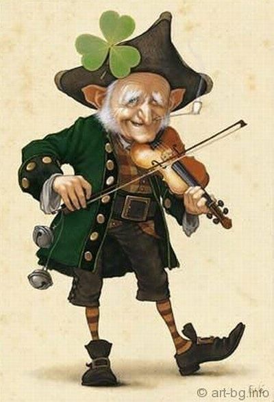 Jean-Baptiste Monge illustrations - Leprechaun                                                                                                                                                                                 Plus