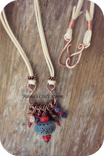 All A-Dangle Necklace by Mama's Craft Room (Heather Otto) #handmade