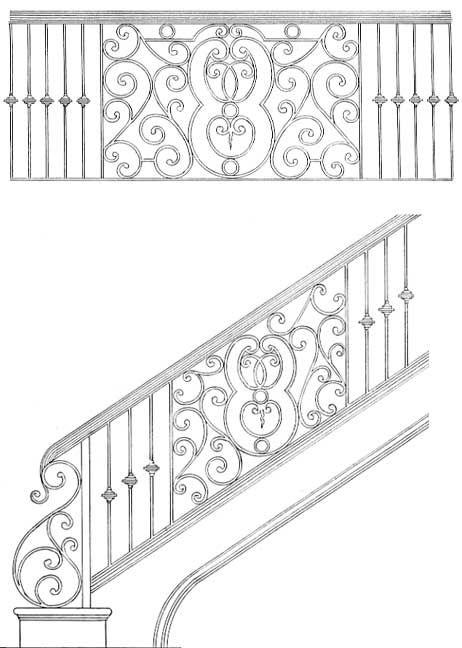 Stair Railing Designs ISR219