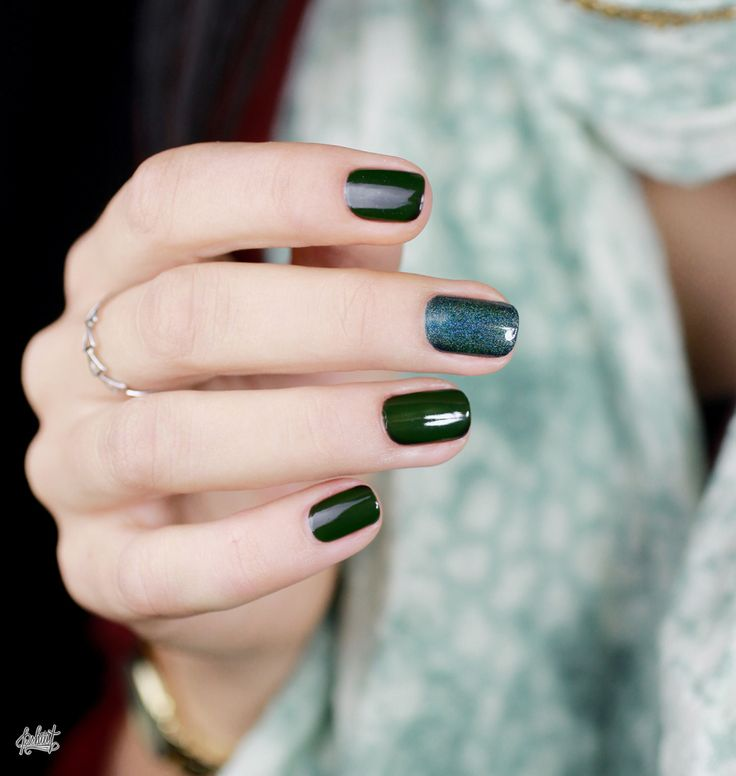 Dark Green.