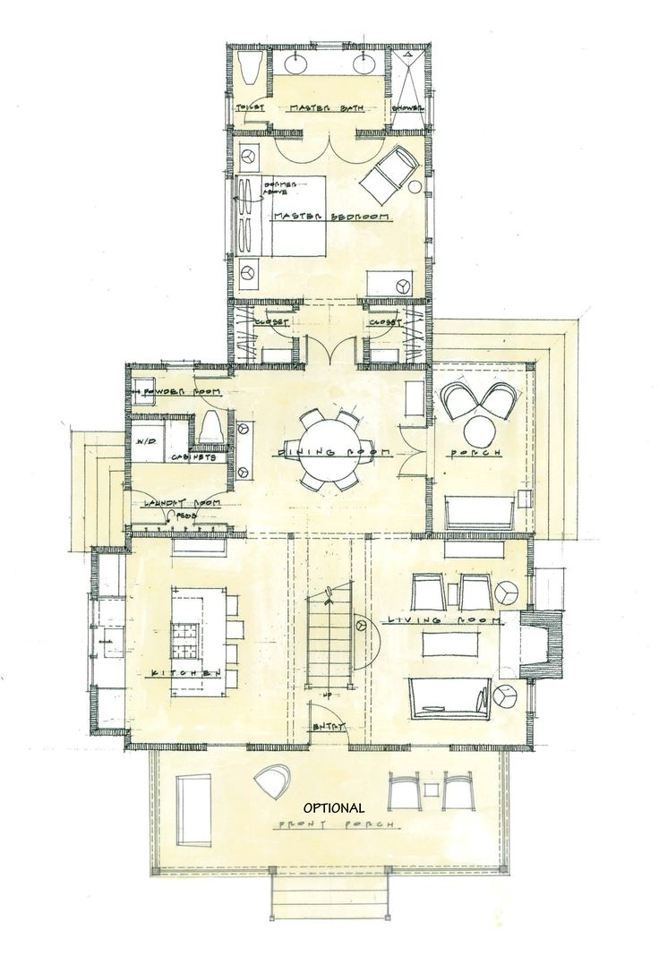 LOVE THE LOOK OF THE RANDOLPH COTTAGE 1,800 SF Plan SL-1864 LONG AND NARROW, BUT LIKE VISBEEN FLOOR PLAN BETTER