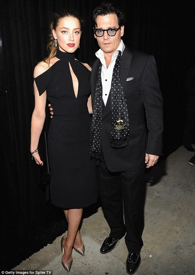 No sign of tiring! Johnny Depp and Amber Heard step out for a second night in a row in honour of Don Rickles having attended the Met Gala the night before