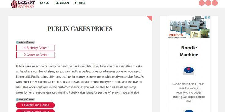 http://www.dessertmenus.com/publix-cakes-prices/