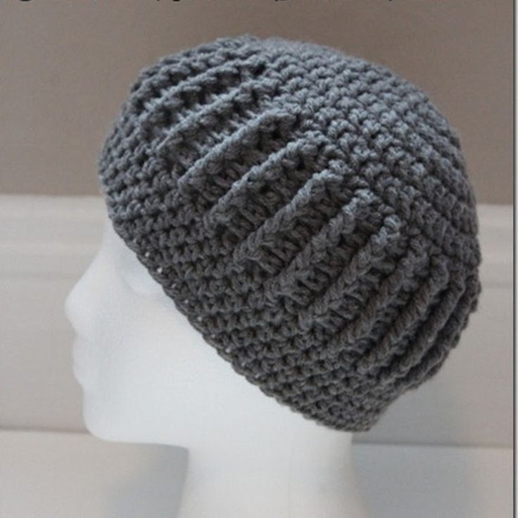 127 best Crochet: Men images on Pinterest | Crochet hats, Beanies ...