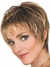 Image result for short pixie cut with bangs and spiky at the back