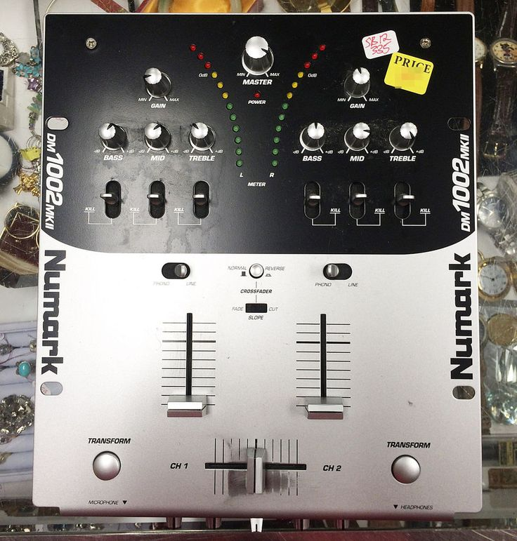 Numark DM 1002 MKII Digital Audio Mixer #Numark