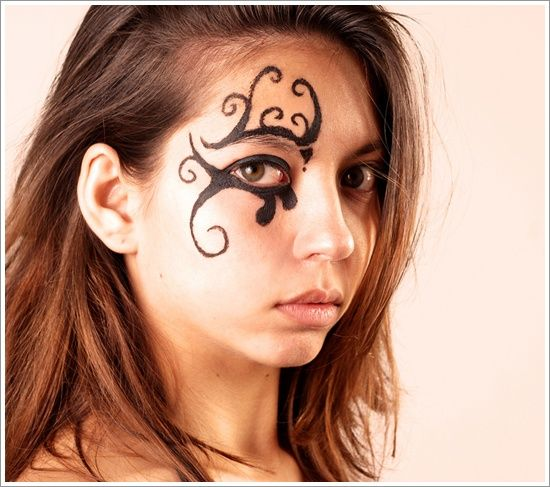 Tattoo Woman Face Design: 7 Best Images About Awesome Face Tattoo Design For Men And