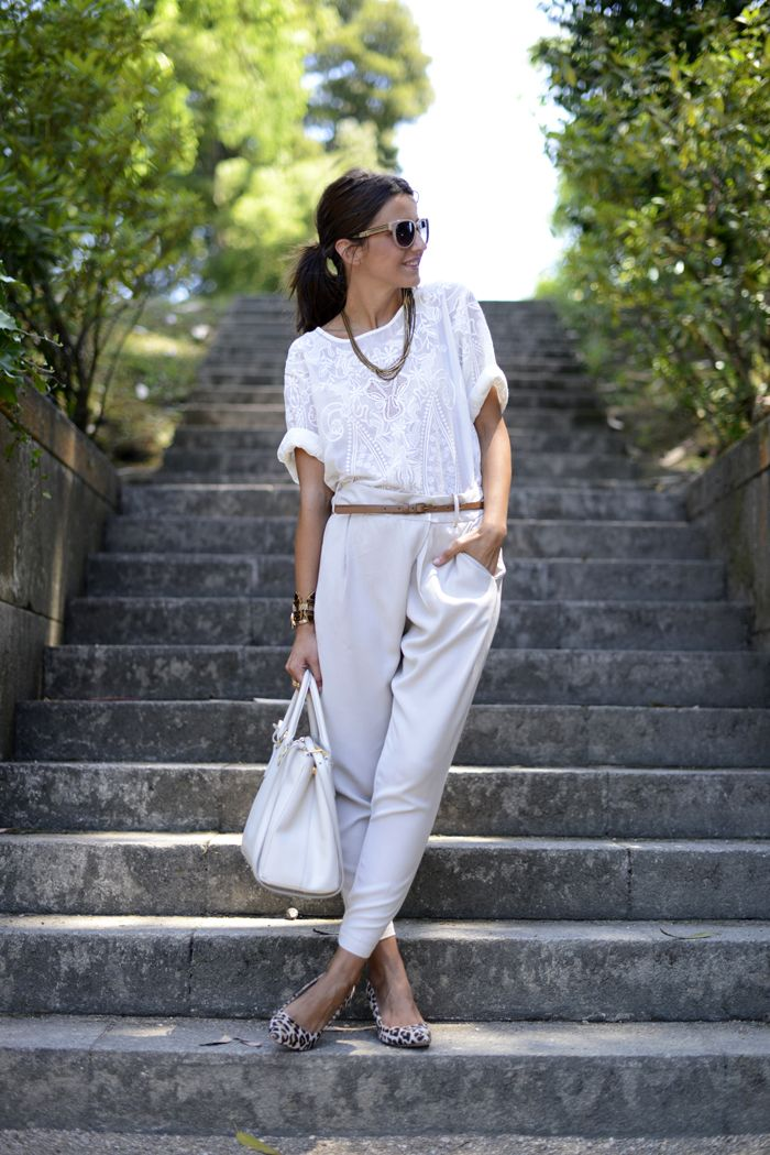 all in white | Lovely Pepa by Alexandra