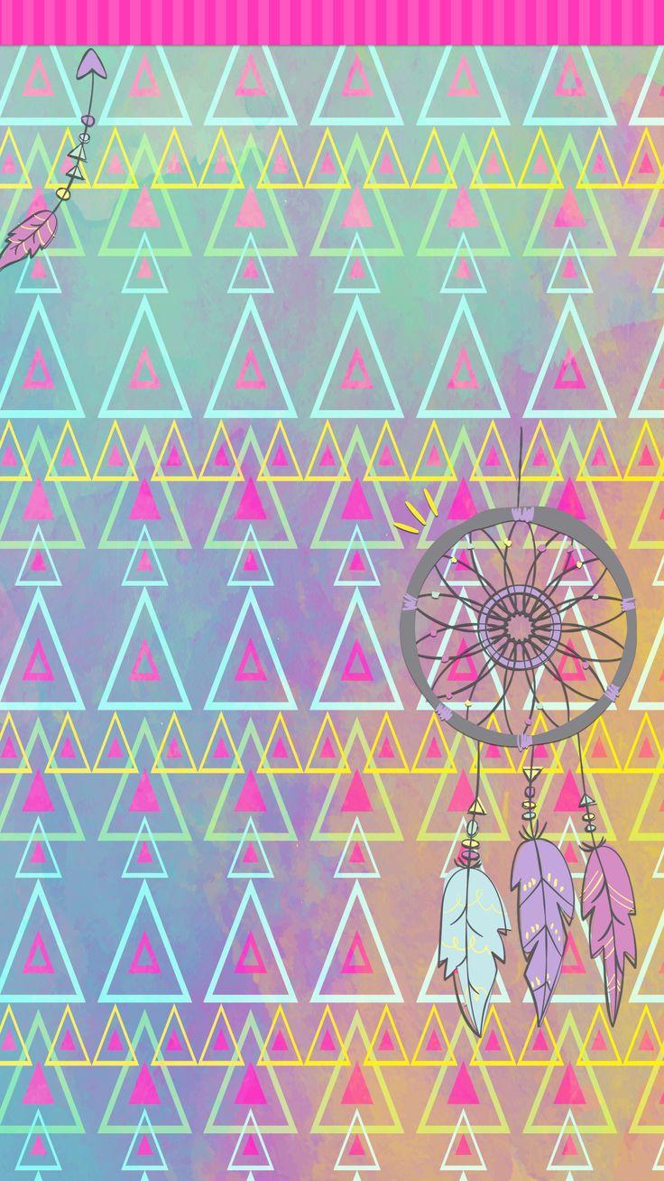 Ethnic iphone wallpaper - Dreamcatcher And Tribal