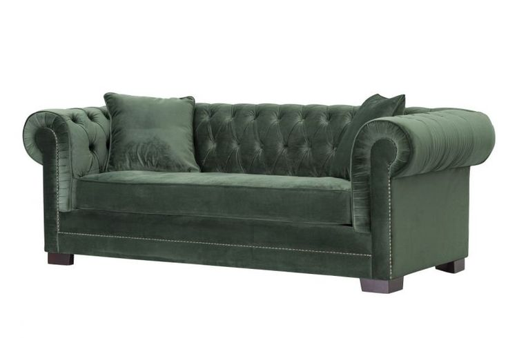 Dekoria,Sofa Chesterfield Classic Velvet Deep Forest   #dekoriapl #sofa #chesterfield #furniture #livingroom #aksamit #style #beautiful #design #