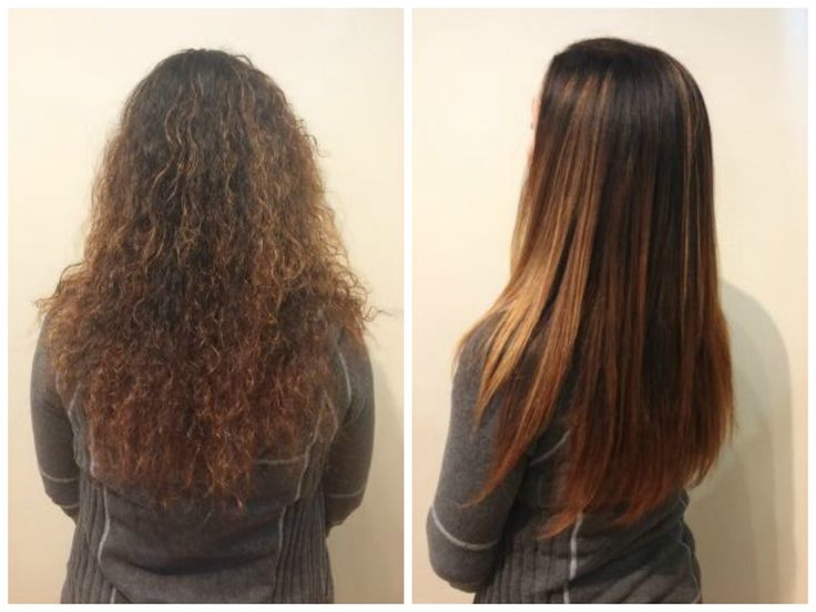 This phenomenal transformation was done by Bethany here at Revolution Hair Design! She used the Goldwell Kerasilk Keratin Treatment to create such a beautiful smooth and healthy hairstyle.