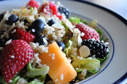 Quinoa, Fruit and Nut Salad | what's cookin'? | Pinterest