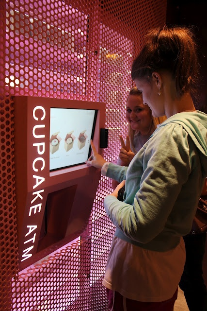 Sprinkles Cupcakes ATM In New York city, Chicago, Beverly Hills, Dallas, and Las Vegas!