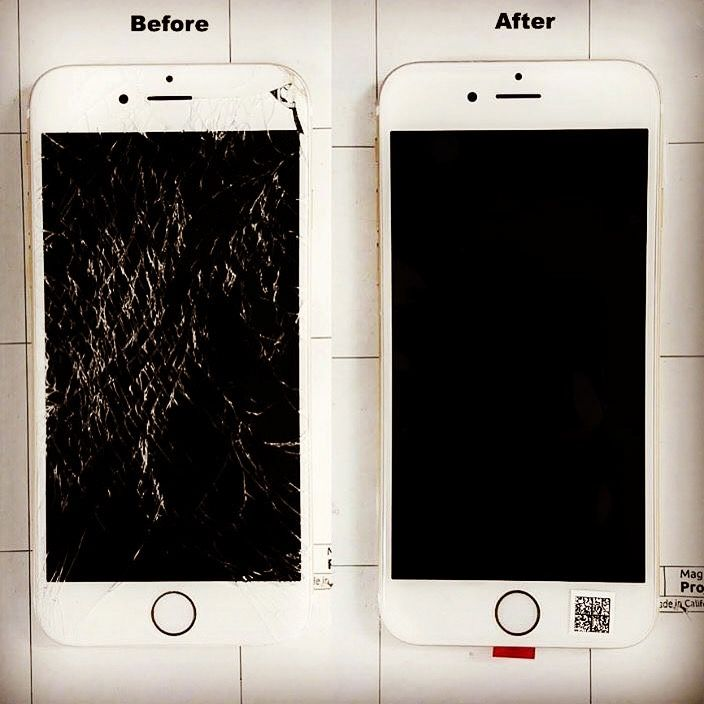iPhone screen replacement walk in service 7 days a week 9421 4357