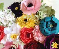 Large Paper Flower Party Decor