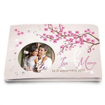 faire part cerisiers en fleur 11 i love pinterest mariage. Black Bedroom Furniture Sets. Home Design Ideas