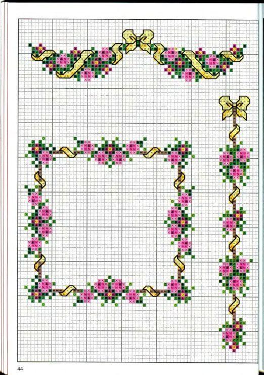 Gallery.ru / Фото #44 - Вышиваем крестом цветы, букеты, деревья - tymannost