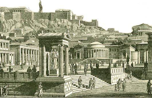I antikens Grekland (700-300 f.Kr) lades grunden till den västerländska kulturen. Antikens grekiska välde var splittrat i stadsstater som hölls ihop av en grekisk kultur.