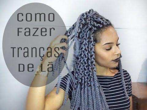 Como fiz minhas tranças - Box Braids - Brenda Lima - YouTube
