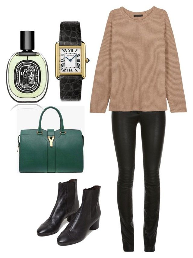 """""""Untitled #5"""" by hongjina on Polyvore featuring The Row, Isabel Marant, Yves Saint Laurent, Cartier, Diptyque, women's clothing, women's fashion, women, female and woman"""