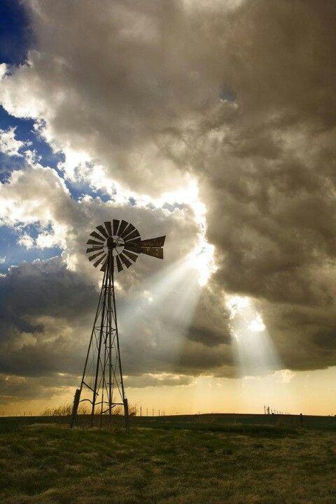 Love old windmills