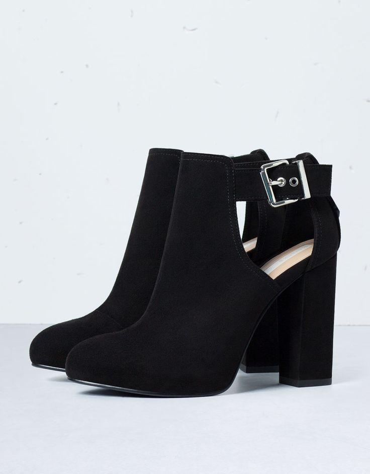 Bottines à talons ouvertes Bershka - Chaussures - Bershka France