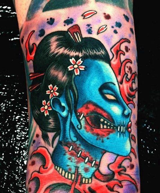 100 best geisha tattoos images on pinterest geisha tattoos geishas and japan tattoo. Black Bedroom Furniture Sets. Home Design Ideas