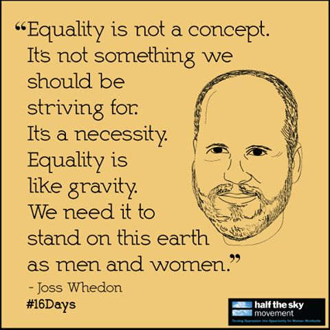 total equality between the sexes is Working for gender equality means that we work to ignore the differences between male and female in order to create total egalitarianism between the sexes i propose that we stop using the term equality with gender issues.