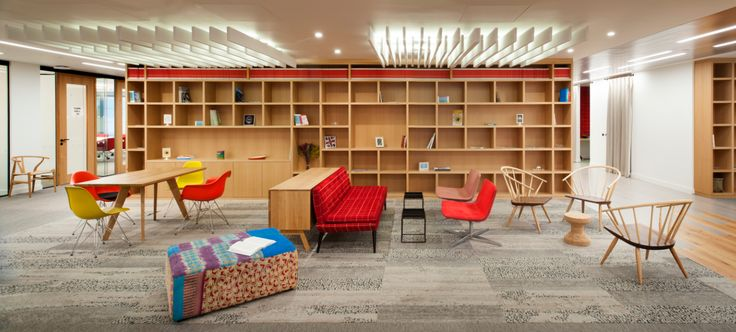 33 best rainbow office design london projects images on for International interior design companies