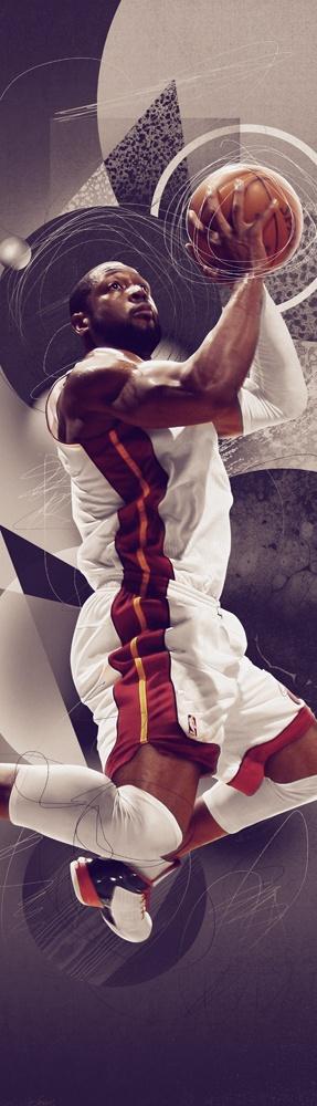 Nike House of Hoops by Nigel Dennis, via Behance