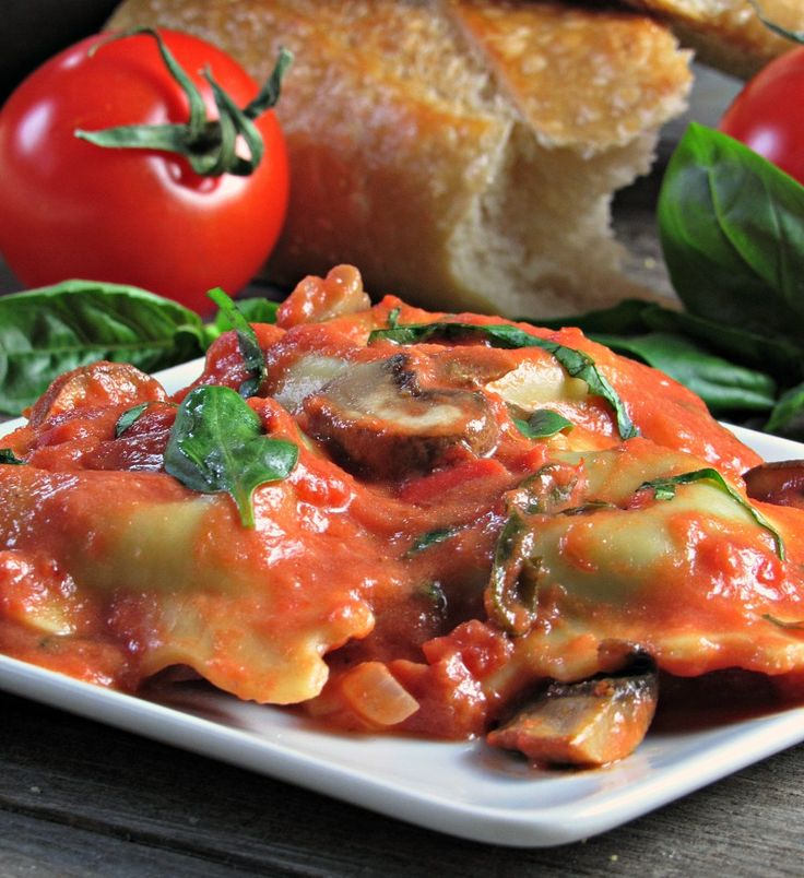 Creamy Rosé Pasta ~ tomato cream sauce ~ with sautéed mushrooms, blended with fresh pasta and is ready in under 30 minutes.