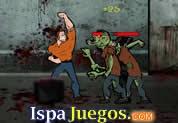 Zombie Rage - Juegos Gratis: Trata de dar los mejores golpes de patadas y manadas para eliminar a los zombies no dejes uno en pie, defiende a la raza humana, juegos http://www.ispajuegos.com/jugar6521-Zombie-Rage.html