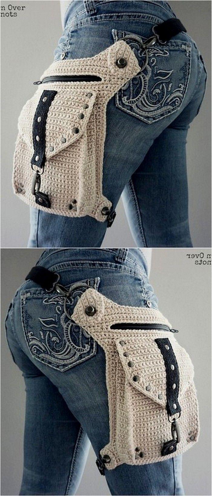 Wunderbare Häkelideen für Taschen und Haushaltsg…