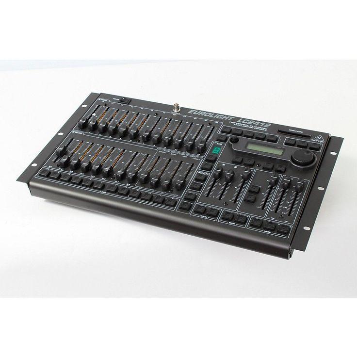 Behringer Eurolight LC2412 24-Channel DMX Lighting Console Regular 888366023402
