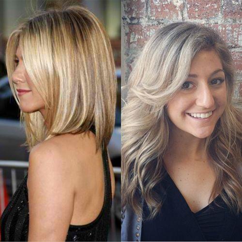The cut: Beautiful Blonde, Hair Colors, Hair Styles, Blondes, Simply Beautiful Hair, Color Hint, Straight Hairs, Dream Hair